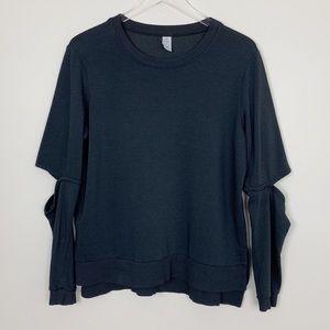 Alternative   Elbow Cut Out Pullover Sweatshirt
